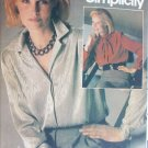 Simplicity 6587 misses blouse size 14 bust 36 sewing pattern UNCUT