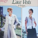 American School of Needlework Crochet Lace Vest number 1174 4 designs craft booklet