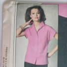Simplicity 9024 misses blouse sizes 6 8 10 sewing pattern 1979