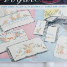 Vogart transfer pattern 135 vintage pillow case embroidery stamp designs