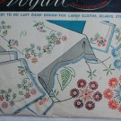 Vogart transfer pattern 115 lazy daisy embroidery stamps