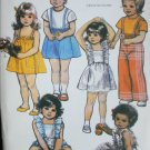 McCall 7559 girl toddlers dress skirt pants bloomers size 1 UNCUT pattern