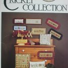 Cross stitch leaflet Cricket Collection Welcome No 7 picture designs
