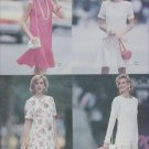 McCall 6371 dress size 8 10 12 UNCUT sewing pattern bottom flounce