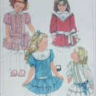 Simplicity 7432 girls dress size 6 breast 25 and transfer