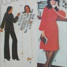 McCall 5799 misses loose top or dress size 12 bust 34 pattern Stretch Knits only