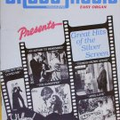 Sheet Music Magazine April May1984 Hits of the Silver Screen Easy Organ