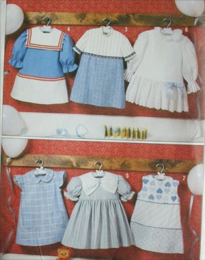 Simplicity 7983 childs girls dress with variations size 6 sewing pattern