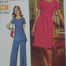 Simplicity 5556 misses tunic dress pants Knits only size 18 Bust 40 pattern