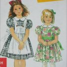 Simplicity 7422 girls dress sizes 3 4 5 6 7 8 UNCUT sewing pattern