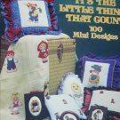 Cross stitch pattern book It's the Little Things that Count 100 mini designs Gloria and Pat