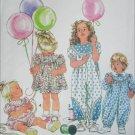 Simplicity 7643 toddler girls sewing pattern size 1/2