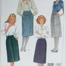Simplicity 7679 misses skirt size 12 waist 26 1/2 sewing pattern