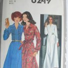Simplicity 8249 misses dress size 12 vintage 1977 UNCUT