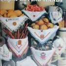 Leisure Arts leaflet 2356 Bread Cloths from Loving Hands 9 designs