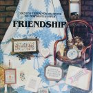 Cross stitch pattern booklet Friendship samplers 10 designs