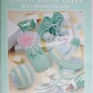 Leisure Arts leaflet 2144 for 12 Quick Baby Gifts to knit