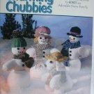 Charming Chubbies knitting pattern for snowman family snow man woman