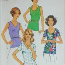 Simplicity 6975 vintage 1975 blouse pattern size 18 and 20