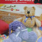 Annie's Attic Easy Cuddly Critters to crochet bears frog elephant patterns