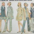 Butterick 5354 retro woman's vest jacket pants skirt uncut size 14