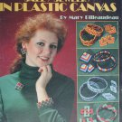 Leisure Arts leaflet 1305 Plastic Canvas Jewelry designs