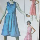 Simplicity 7707 jiffy wrap dress jumper woman size 12 sewing pattern UNCUT