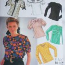 Simplicity 9923 blouse pattern sizes 6 8 10 12 14 UNCUT