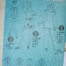 Simplicity 8733 retro 1970 pattern misses mini dress flared sleeve top size 10 UNCUT