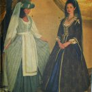 Simplicity 7756 Renaissance costume pattern misses sizes 10 12 14