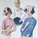 McCall 6583 vintage 1962 blouse pattern size 14 bust 34
