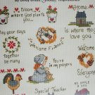 Leisure Arts 625 Just a Thought small sayings in cross stitch 21 designs