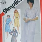 Simplicity 5894 misses shirt waist dress sizes 12 14 16 vintage 1983