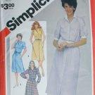 Simplicity 5894 misses shirt waist dress sizes 12 14 16 vintage 1983