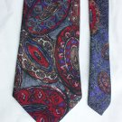 Man's tie by Executive Collection polyester print 4 inch necktie