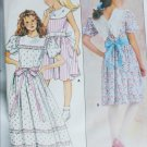 Butterick 3783 girls dress UNCUT pattern size 10 long short versions