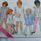 Butterick 3648 child's dress front pleats UNCUT size 6 pattern