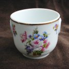 Limoges Francam France china miniature planter vase cup 2 1/4 inches