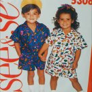 Butterick 5306 See & Sew child pattern shorts shirt sizes 2 3 4