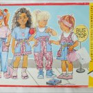 Butterick 3788 girls toddlers pattern sizes 2 3 4 jumper overalls skirt
