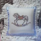 Cross stitch pattern Trotter rocking horse Teresa Wentzer