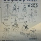 Simplicity 6205 colonial woman's costume pattern size 14 UNCUT