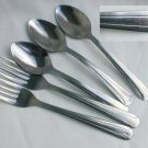 Dominion stainless Walco China Taiwan 3 teaspoons 2 forks
