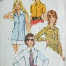 Simplicity 5022 misses blouse size 18 bust 40 vintage 1972 pattern