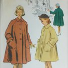 McCall 8676 vintage 1951 girls coat size 8 breast 26 pattern