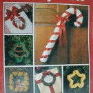 Leisure Arts 2050 Holiday Knits patterns for ornaments
