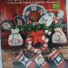 A Patchwork Christmas 15 projects for quilting & appliques #8002 Plaid