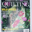 Better Homes and Gardens American Patchwork & Quilting April 2003 patterns