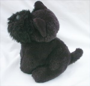 Dakin plush Scottie dog black 1989 animal Scotty small