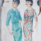 Butterick 3333 misses dress size 16 B36 vintage pattern
